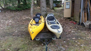 Hobie Oasis for sale and ocean torque electric drive option