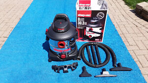 Shop Vac- Stainless Steel 8 gal MINT- Like New!!