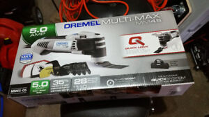 Dremel Multi-Max MM45 Oscillating Tool Kit with 15 Accessories