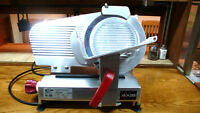 """Axis 10"""" Meat Slicer with Top Mount Sharpener"""