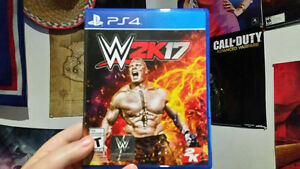 Selling WWE 2k17 for PS4 for $40