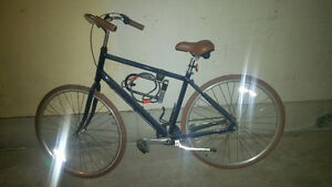 Priority Bikes Vintage style commuter bike.cable lock/air pump