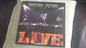 TWISTED SISTER LIVE AT HAMMERSMITH DOUBLE GATEFOLD VINYL !