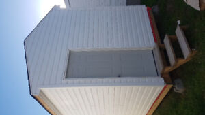 Insulated shed 12ft L 8 ft W 12.5H