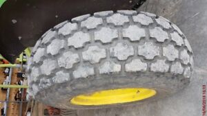 """16.9"""" x 24"""" Turf Type Tractor Tires with Rims/Wheels"""