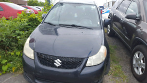 ONLY $1995, REDUCED, 2008 Suzuki SX4, 6 MONTH warranty, financin