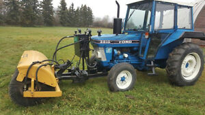 Sweepster AH Front Mounted Tractor Broom