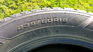 I sell 4 winter  tire in very good condition