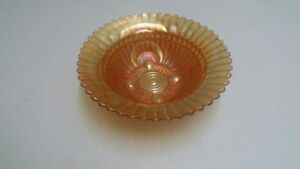 Carnival glass bowl - 9 inches