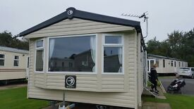 Caravan to rent this weekend Berwick Haven family park
