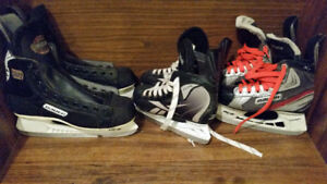 Youth junior and adult skates