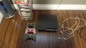 PlayStation 3 and 25 Games, 3 Controllers