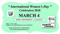Internationational Women's Day - EXHIBITOR SPACE - MAR 4
