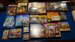 Boardgames 4 sale Five Tribes, Glass Road, Smash up.  Board game