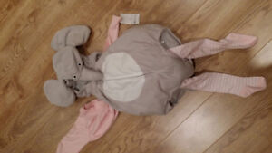 Brand new 24 month baby gril elephant carters halloween costume