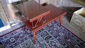 vintage midcentury modern side table in good condition
