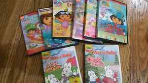 Max and Ruby and Dora DVD