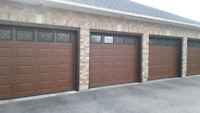 Garage Door Aluminum Capping Windows