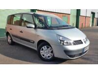 2004(04) RENAULT ESPACE 1.9dCi AUTHENYIQUE SEVEN SEATER PEOPLE CARRIER 47MPG!