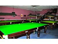 X 4 12ft snooker + 2 American pool tables for sale. Job lot