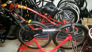 Cruiser bicycles and parts for sale