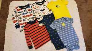 Never worn CARTERS 18 month shirts.