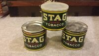 Chewing Tobacco Tins- Vintage