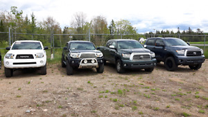Toyota Tundra, Tacoma trucks for sale