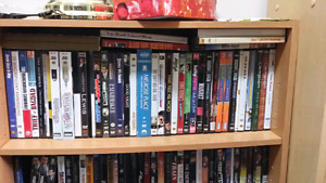 Well over 250 dvds for sale or trades