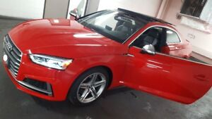 2018 Audi S5 2door Red Coupe Lease Take over $713.08 plus tax.