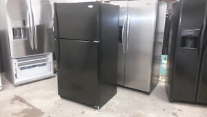 LARGE BLACK WHIRLPOOL FRIDGE FOR YOUR RENTAL