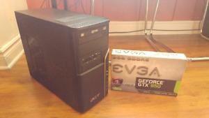 PC gamer GTX 950 SSD i5-2400 8GB RAM HyperX ***Ultra Graphics***