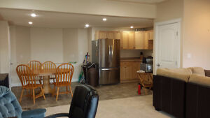 Furnished 3bd apartment with driveway parking avl July 1