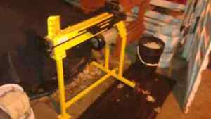 4 ton Electric Log splitter with stand