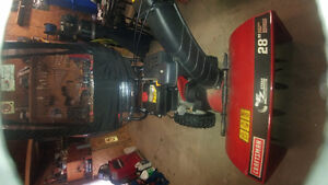 Reduced!! 14.5 hp 28inch Craftsman Snowblower with Cab.