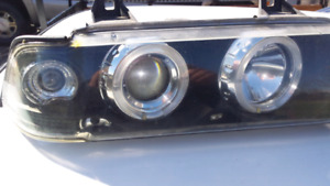 BMW e36 headlights and tail lights
