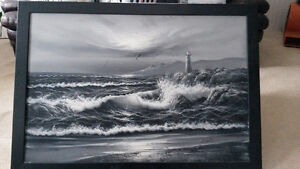 Rough Water Painting