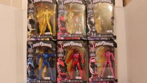 Power Rangers Legacy movie figures set TRU