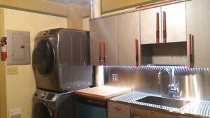 66-3 Architect Designed 2Bdrm + Industrial Style Kitchen + Deck