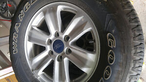 F150 rims and tires Kingston Kingston Area image 1