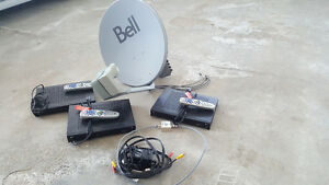 Bell satellite and recievers for sale