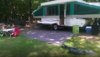2007 Viking 2308ST Tent Trailer