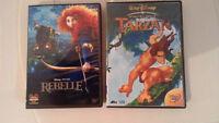 Film d'animation en format dvd à vendre ---5$ chacun