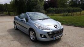 2011 Peugeot 207 CC 1.6 HDi FAP Sport 2dr Full Service History