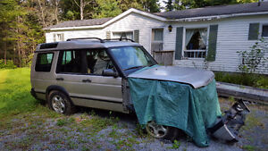 LANDROVER DISCOVERY FOR PARTS