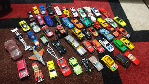Vintage 80's Majorette Hot Wheels Matchbox Cars and Trucks