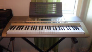 """New Price/ Affordable Casio Keyboard - LK-270 NEW + Stand"