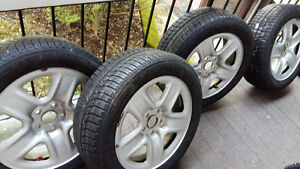 215 55 17 michelin winter tires and rims