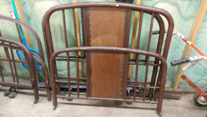 Antique Head and Footboards