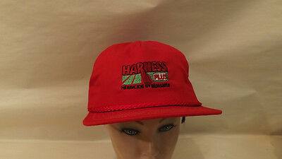 Vtg Harness Plus Herbicide By Monsanto  Snapback Hat Cap  Usa Made Unworn